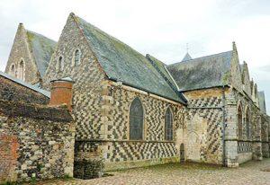 Eglise médiévale de Saint-Valery sur Somme
