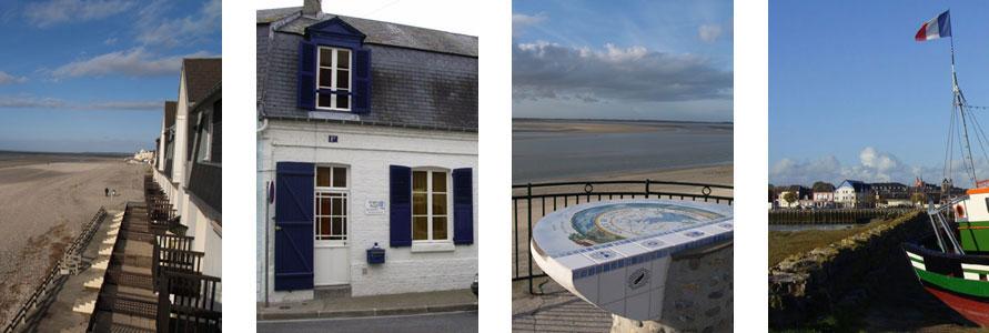 Une maison en location id alement situ e location crotoy for Hotel baie de somme avec piscine